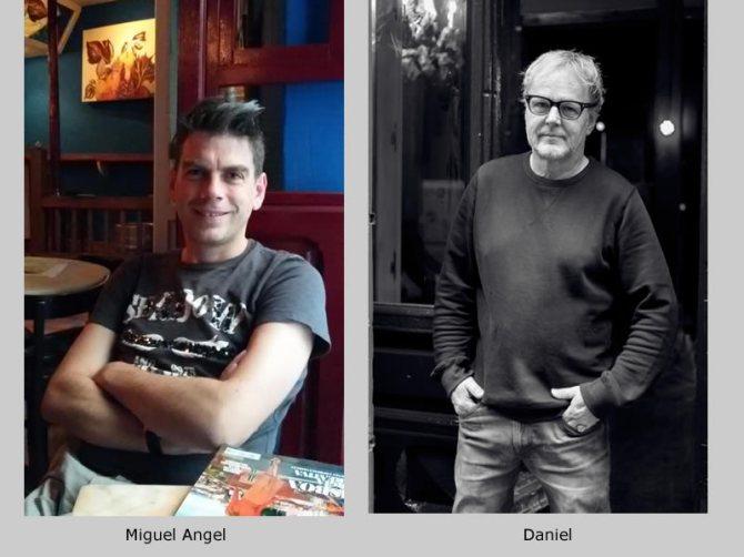 Miguel Angel Martin de Blas, Daniel Garbade, Cafe Belen, socio
