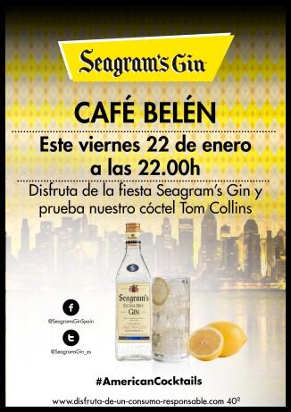 Cartel Personalizado CAFÉ BELÉN