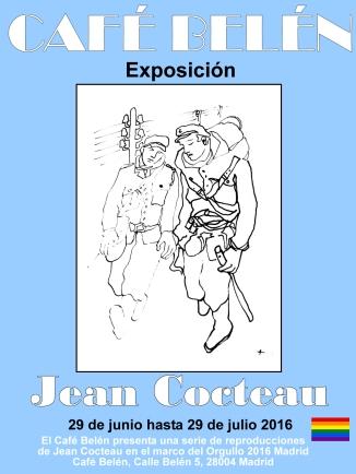 Jean Cocteau en el Cafe Belen