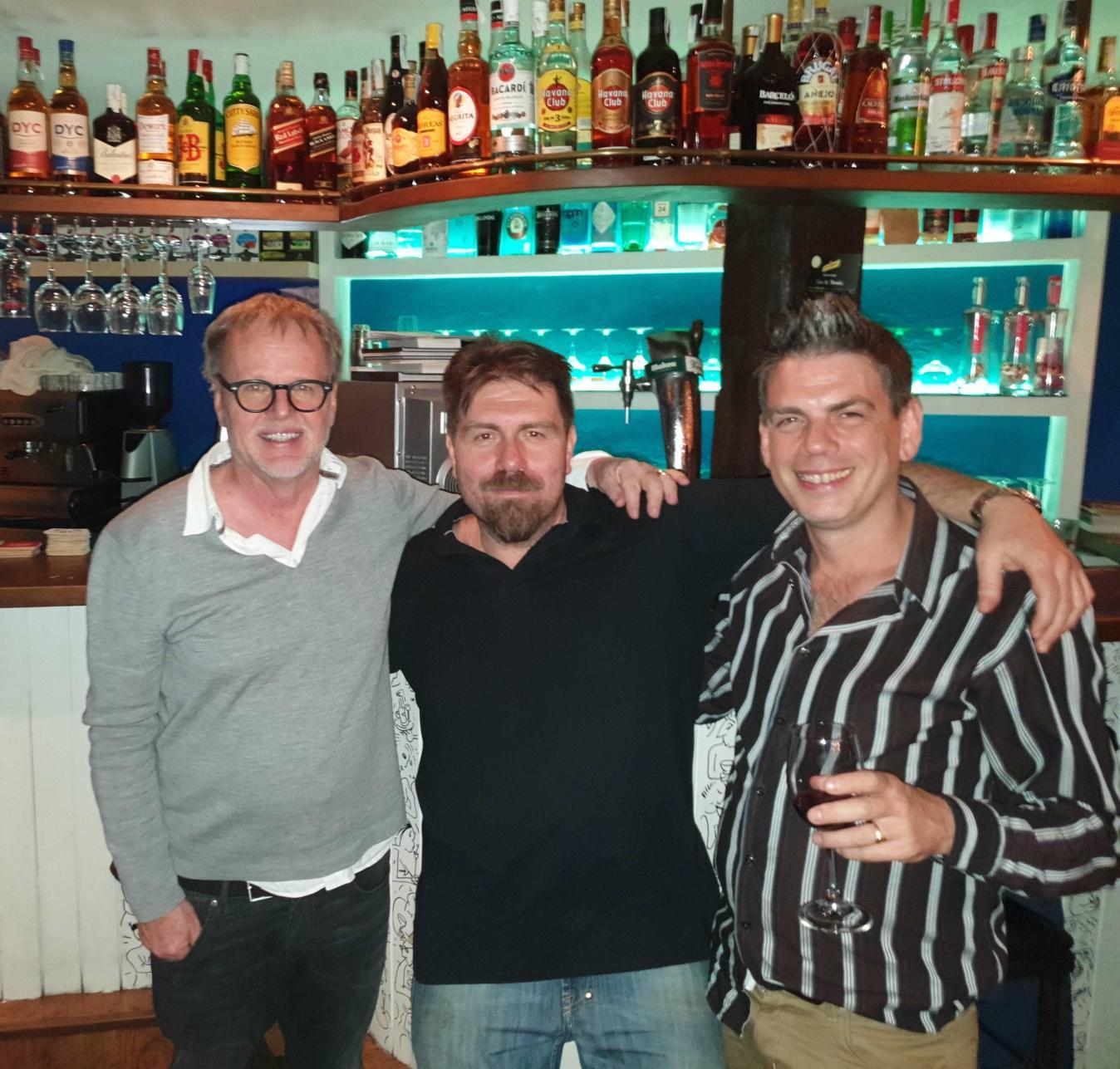 Cafe Belen,Bar,Daniel,Alvaro,Miguel Angel,Equipo